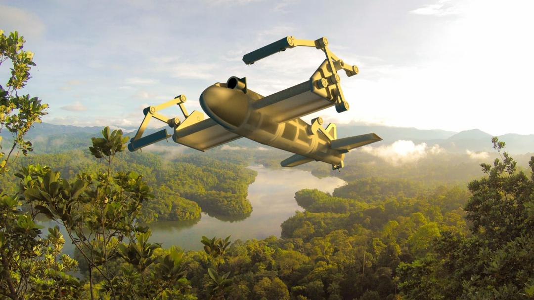Hayden Cotgrove — SCRAM: Soaring and Climbing Rainforest Robot for Aerial Monitoring