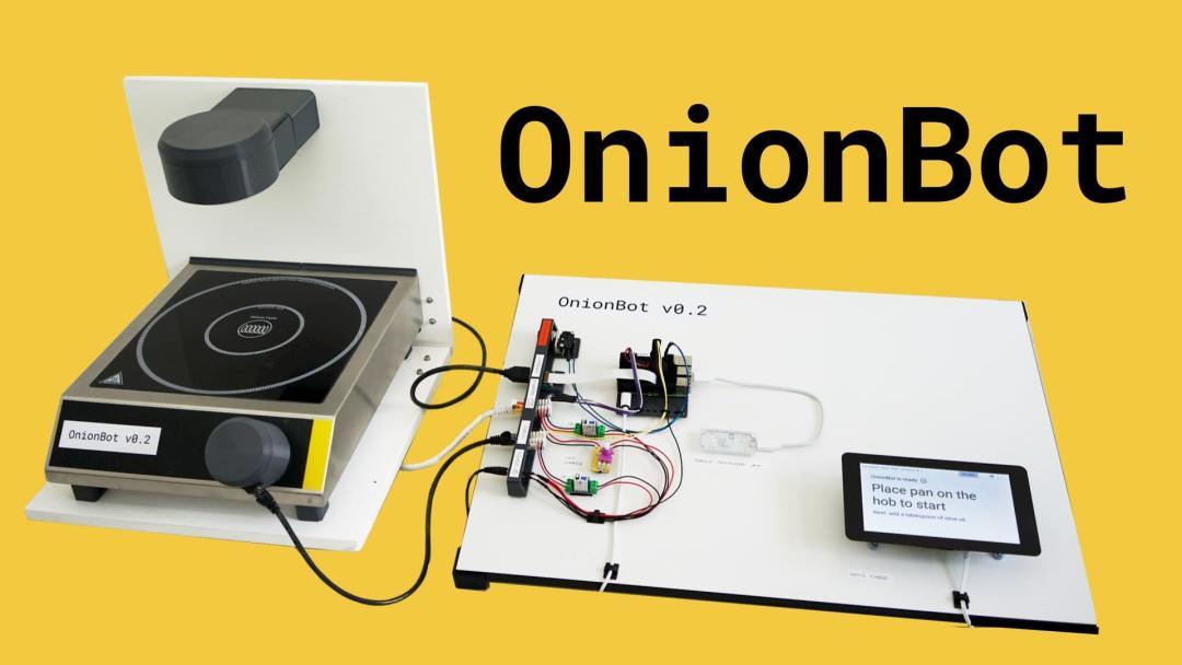 Ben Cobley — OnionBot: Building a Robot Sous-Chef