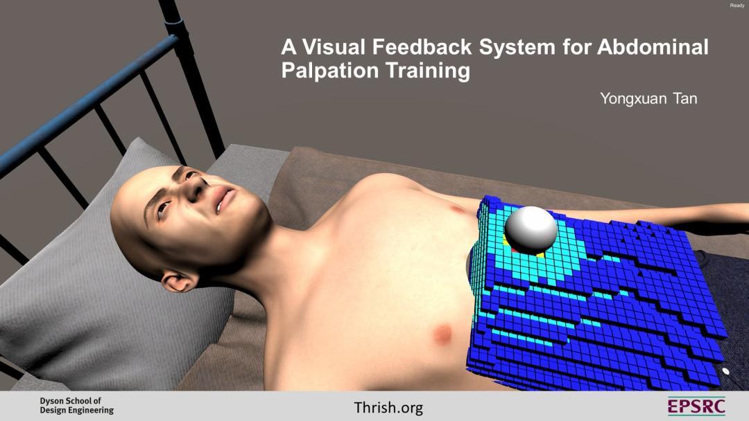 Jacob Tan — A Visual Feedback System for Abdominal Palpation Training