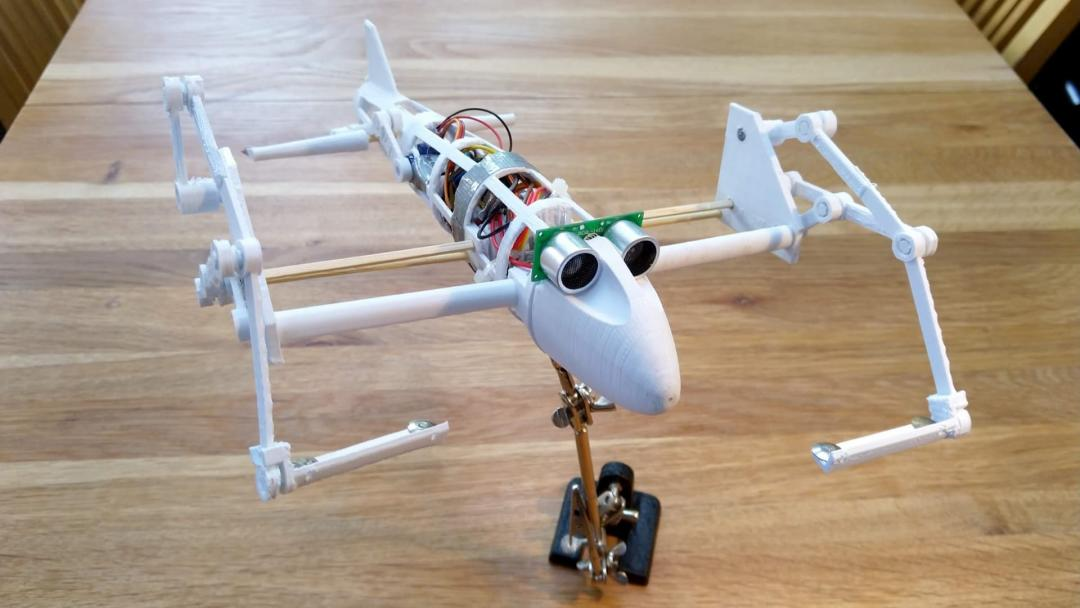 — SCRAM: Soaring and Climbing Rainforest Robot for Aerial Monitoring
