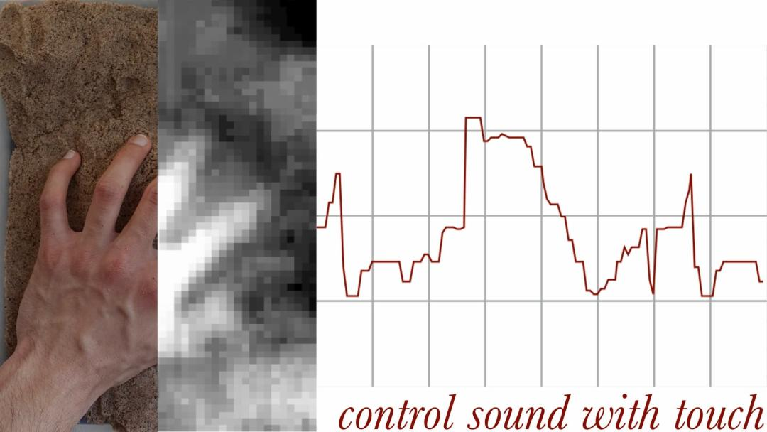 Neel Le Penru — Haptaesthesia: Development of a Bi-Directional Interface for the Control of Sound Through Physical Shape and Texture