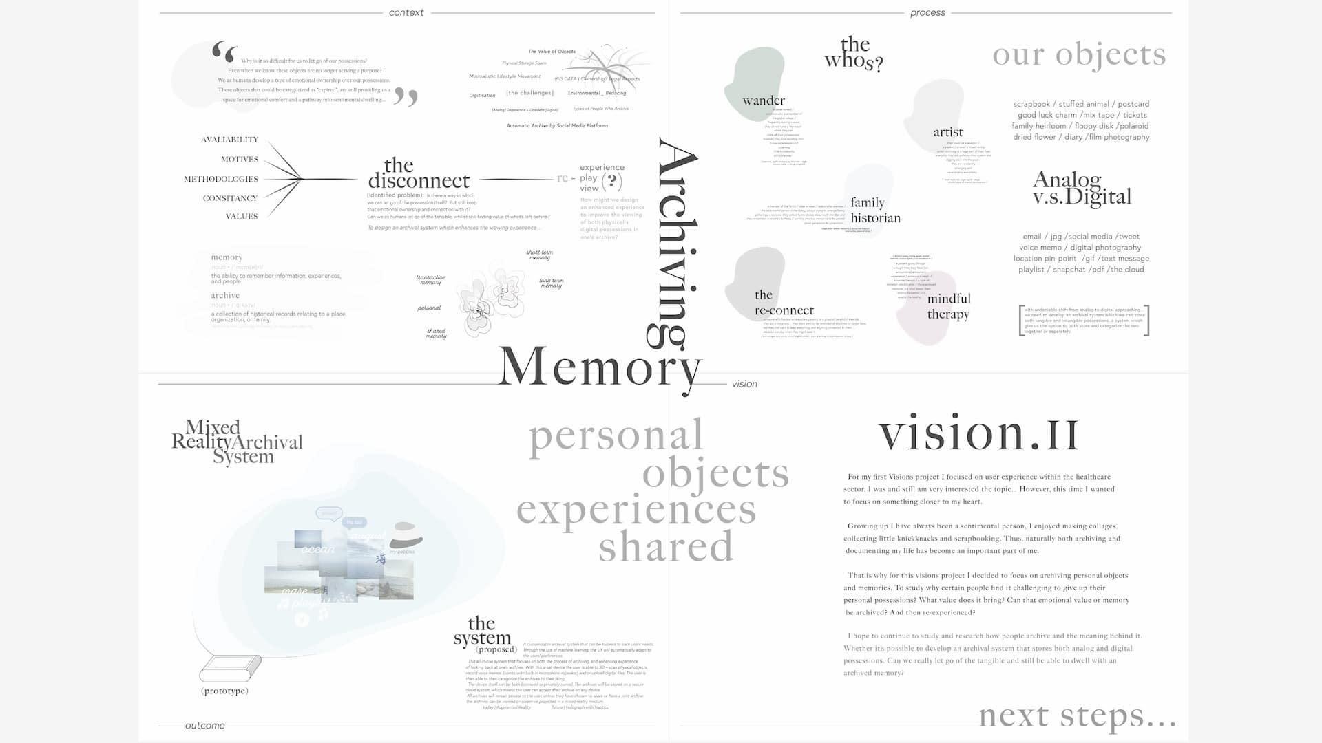 — GID Project Series: Archiving Memories