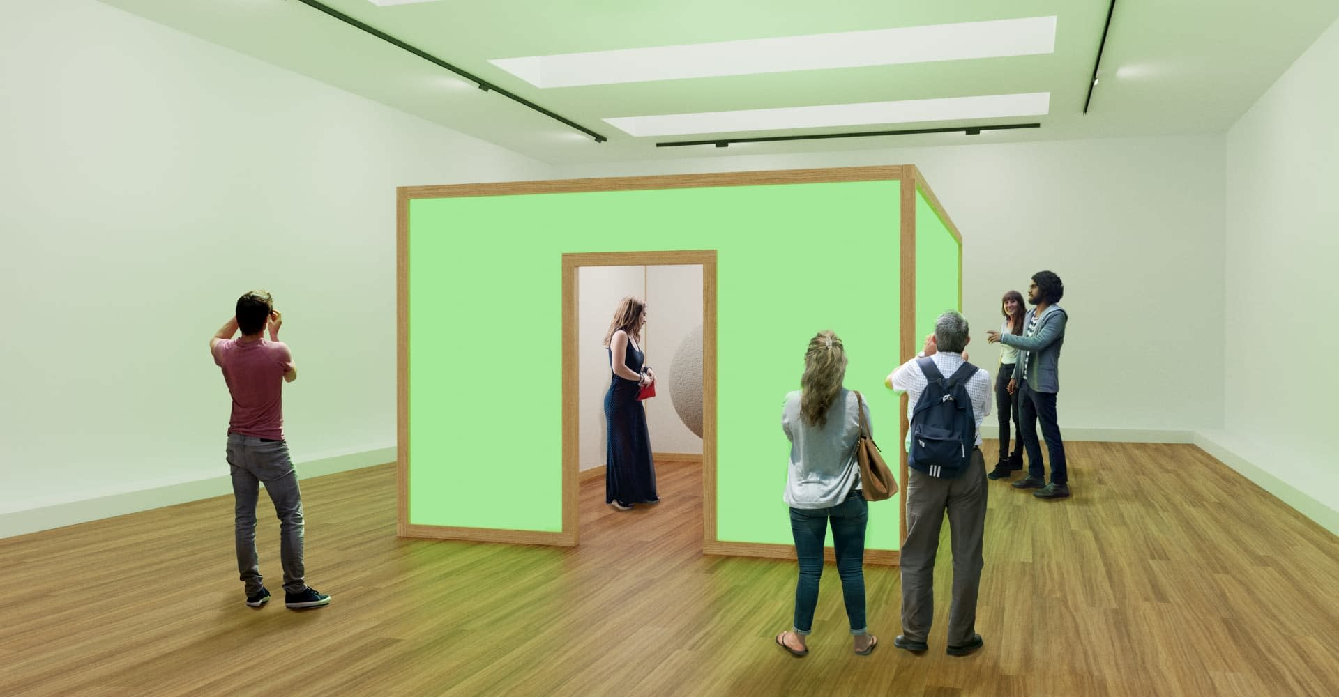 — Reversed Interactions: Facilitating Social Experiences in Art Galleries