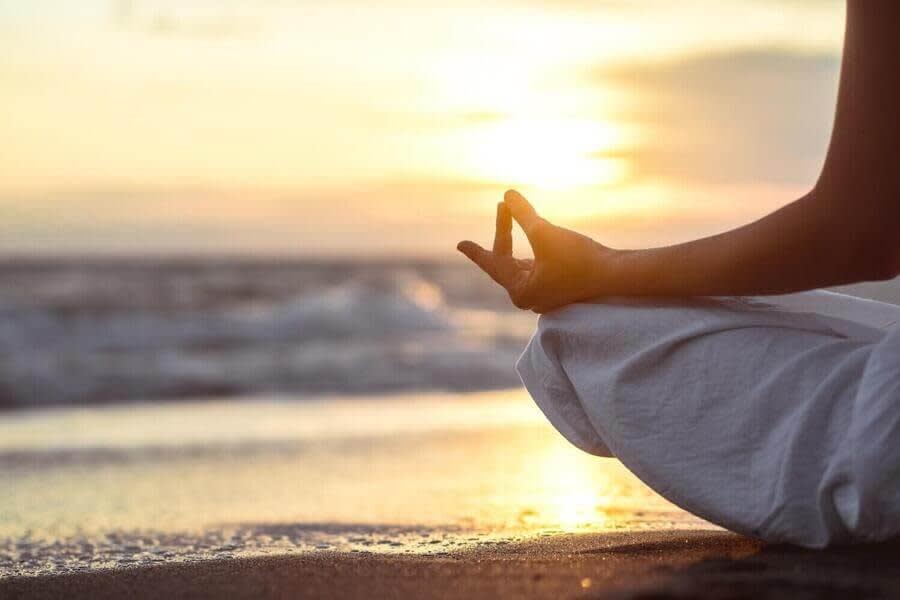 Mindfulness On the Beach.