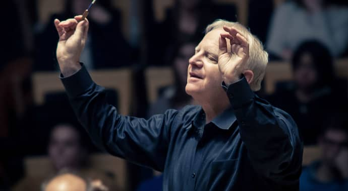 Artwork for Slatkin Conducts Copland, Barber & Bernstein