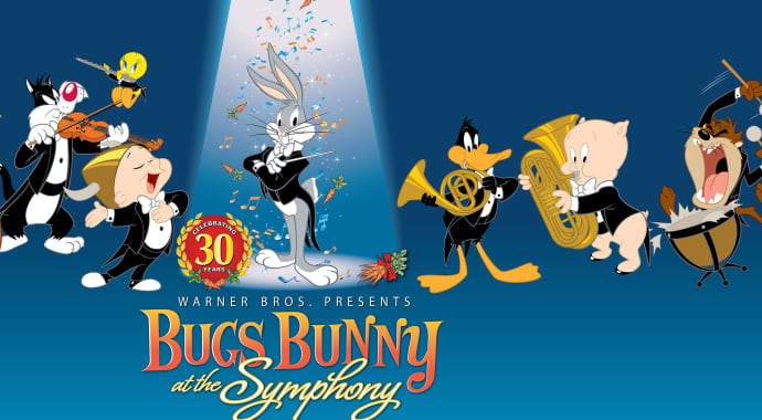 Artwork for Bugs Bunny @ the Symphony 30 Anniversary Edition