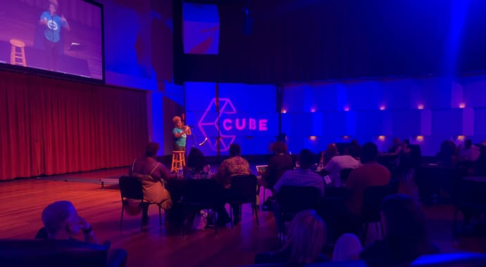 Artwork for CUBE Poetry Slam – UNPLUGGED