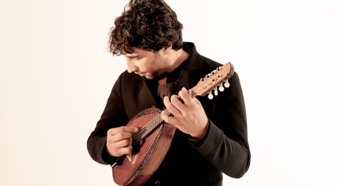 Artwork for Avi Avital Plays Vivaldi and Clyne