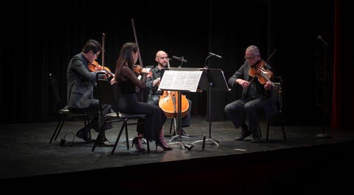 Artwork for Dvořák's String Quintet
