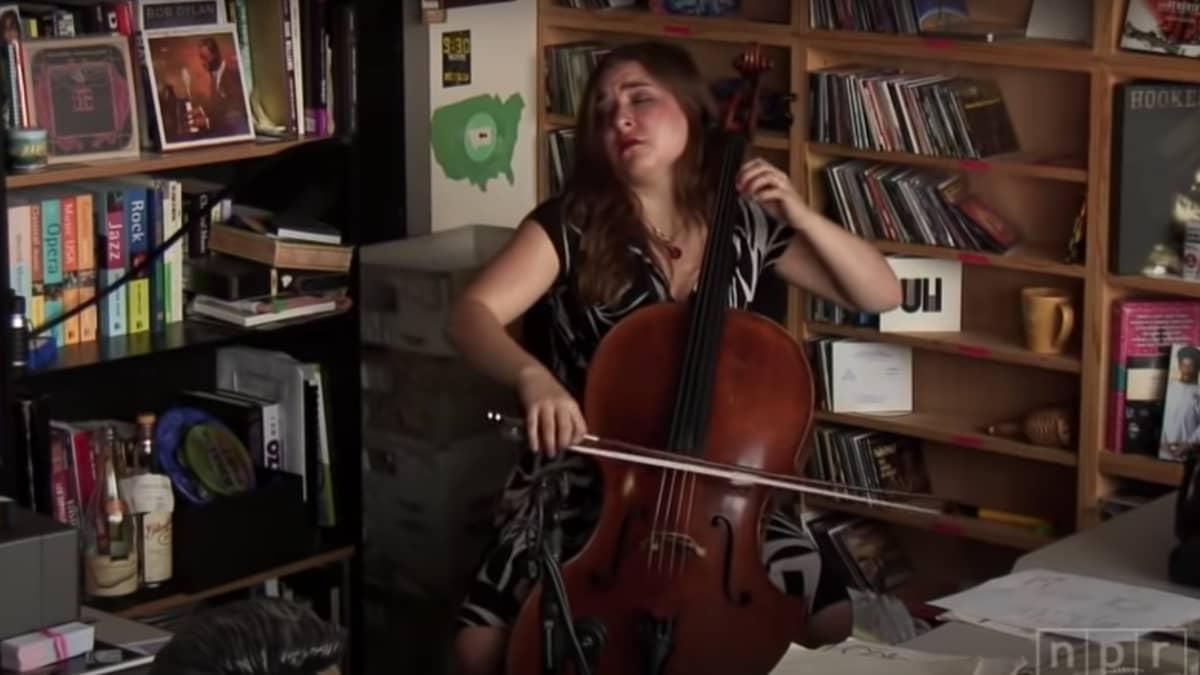 Artwork representing Alisa Weilerstein: NPR Music Tiny Desk Concert
