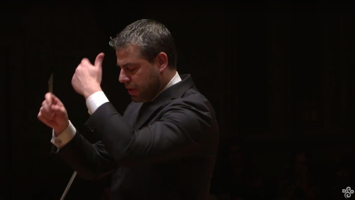Artwork representing Berlioz: Symphonie fantastique, Mvt. IV – Jader Bignamini