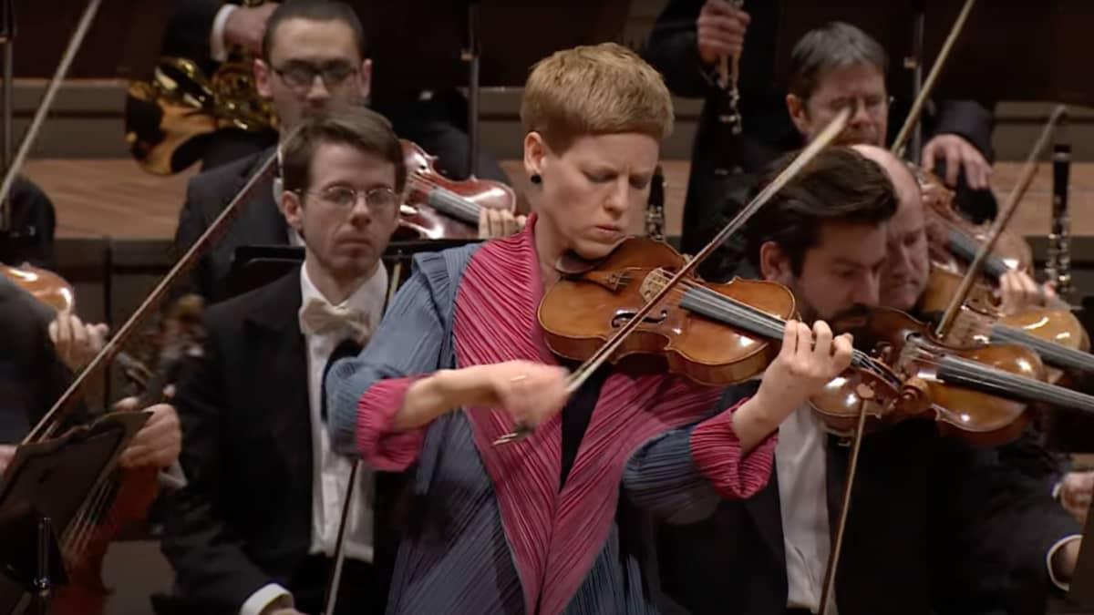 Artwork representing Beethoven: Violin Concerto / Faust · Haitink · Berliner Philharmoniker