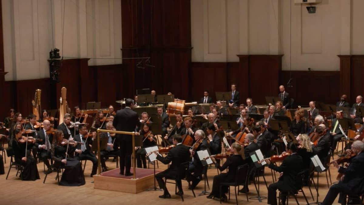 """Artwork representing BERLIOZ """"Symphonie fantastique"""" –  Jader Bignamini, conductor"""