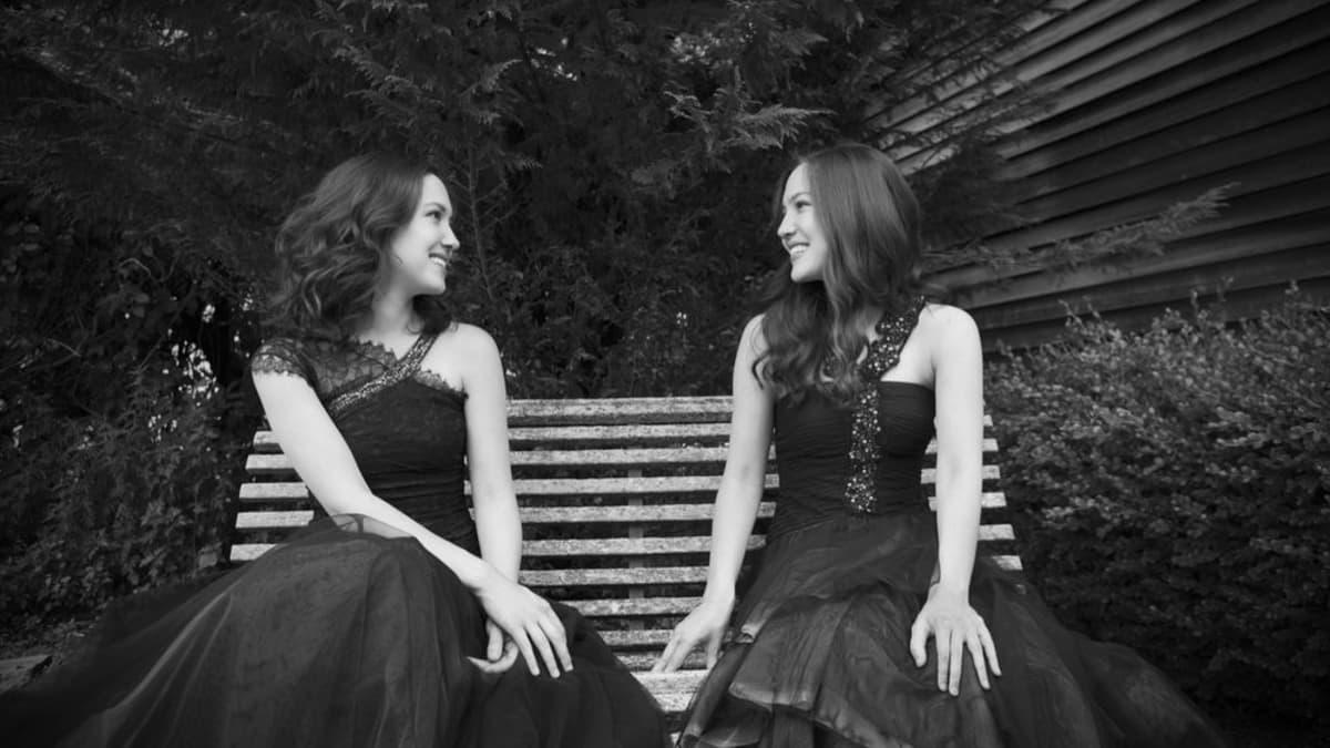 Artwork representing Christina and Michelle Naughton Mozart Variations