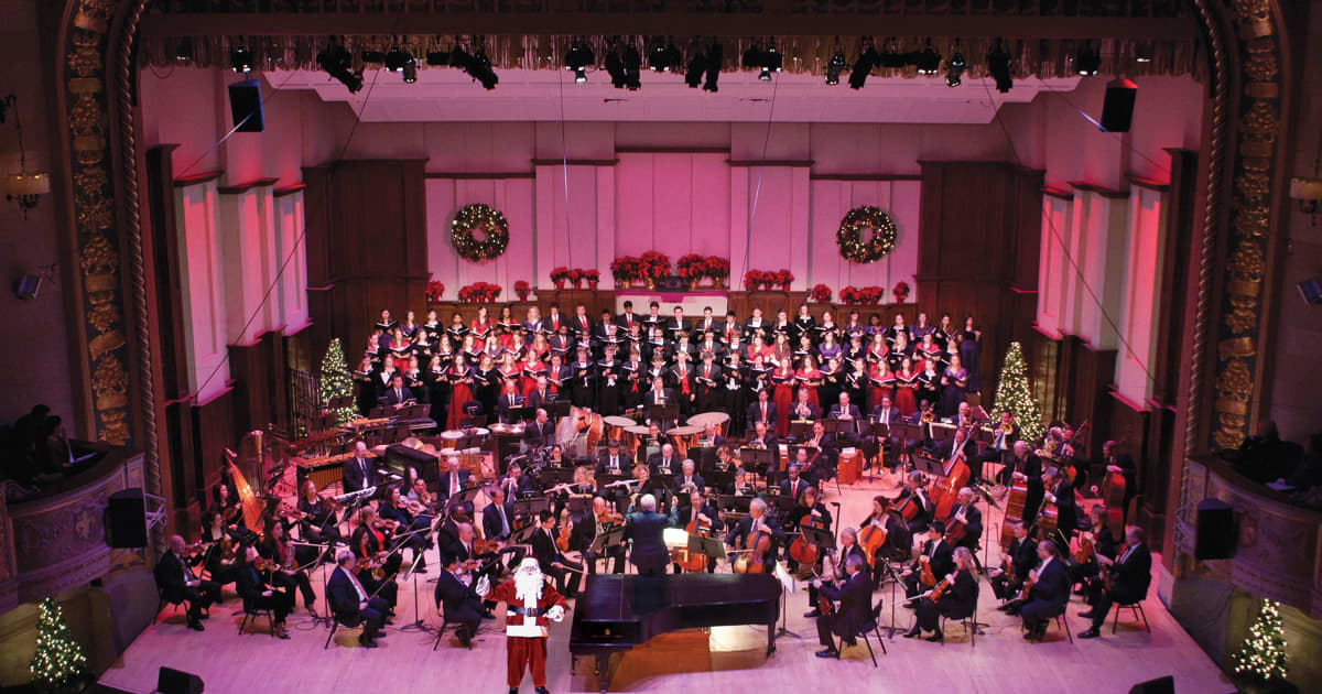 Home For The Holidays Detroit Symphony Orchestra