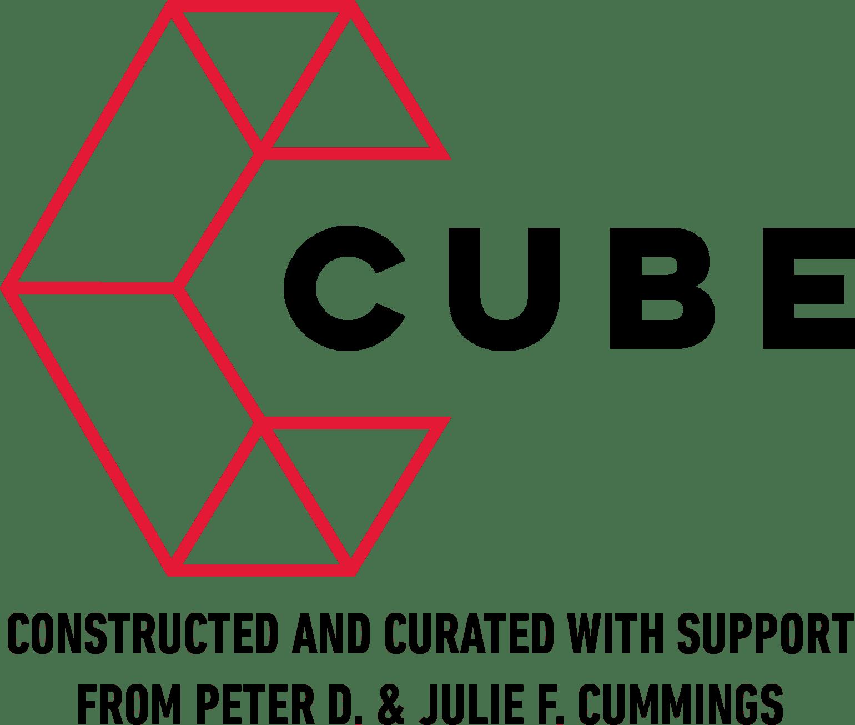 CUBE logo black text