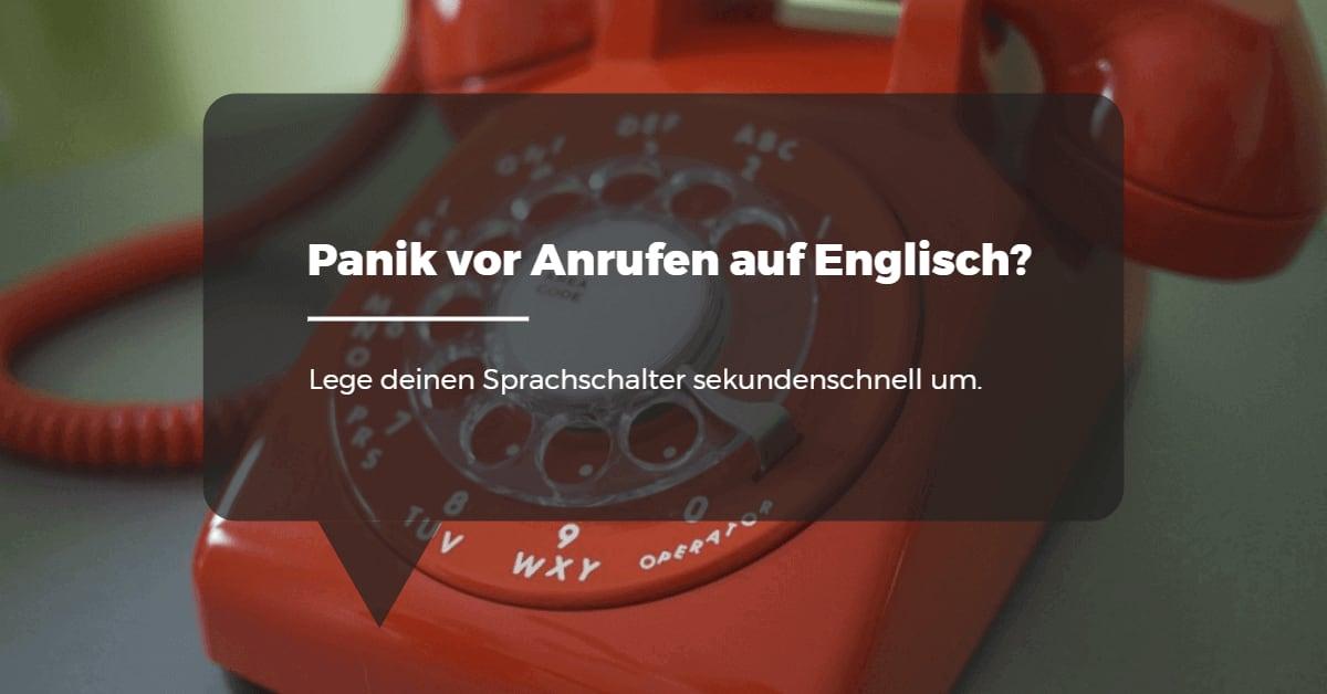 Panik Englisch
