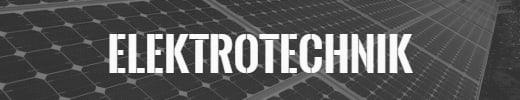 Banner für Elektrotechnik