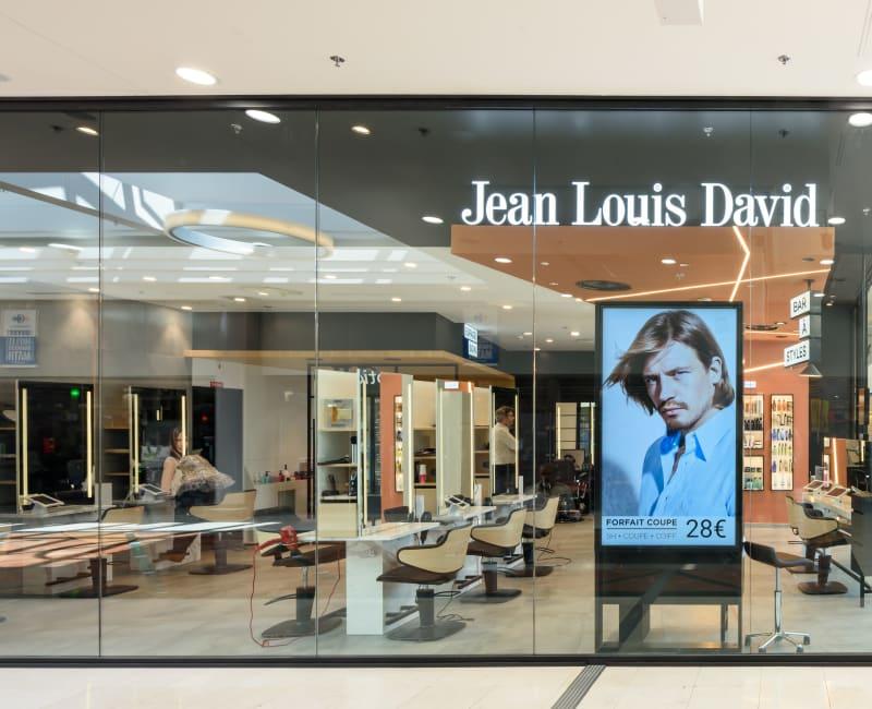 Carte Carrefour Jean Louis David.Jean Louis David Centre Commercial Regional Evry2