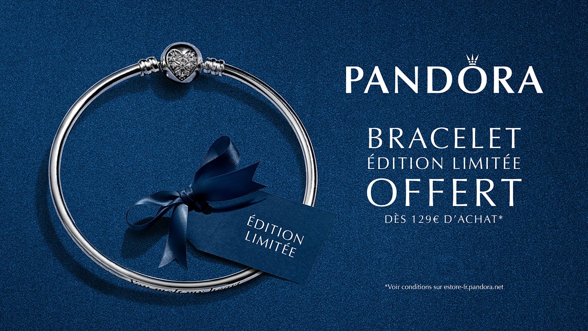 Pandora - Le bracelet édition limitée offert dès 129€ d'achat ou à ...