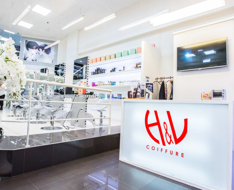 H L Coiffure Centre Commercial Ville2 Belgique