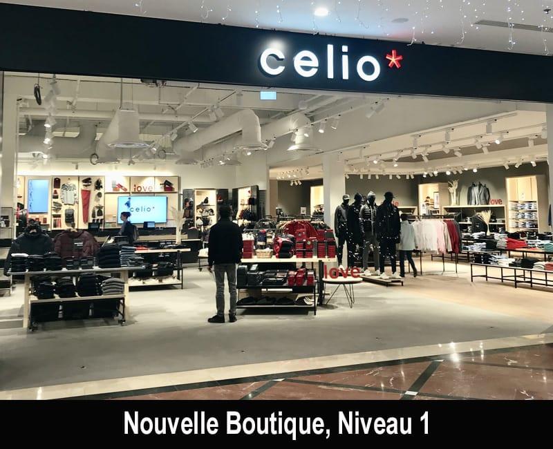 nouvelle boutique celio et celio club centre commercial r gional evry2. Black Bedroom Furniture Sets. Home Design Ideas
