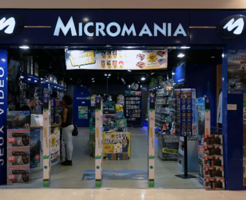69f6fe96a15486 Micromania. 2 boutiques Micromania à votre service ...
