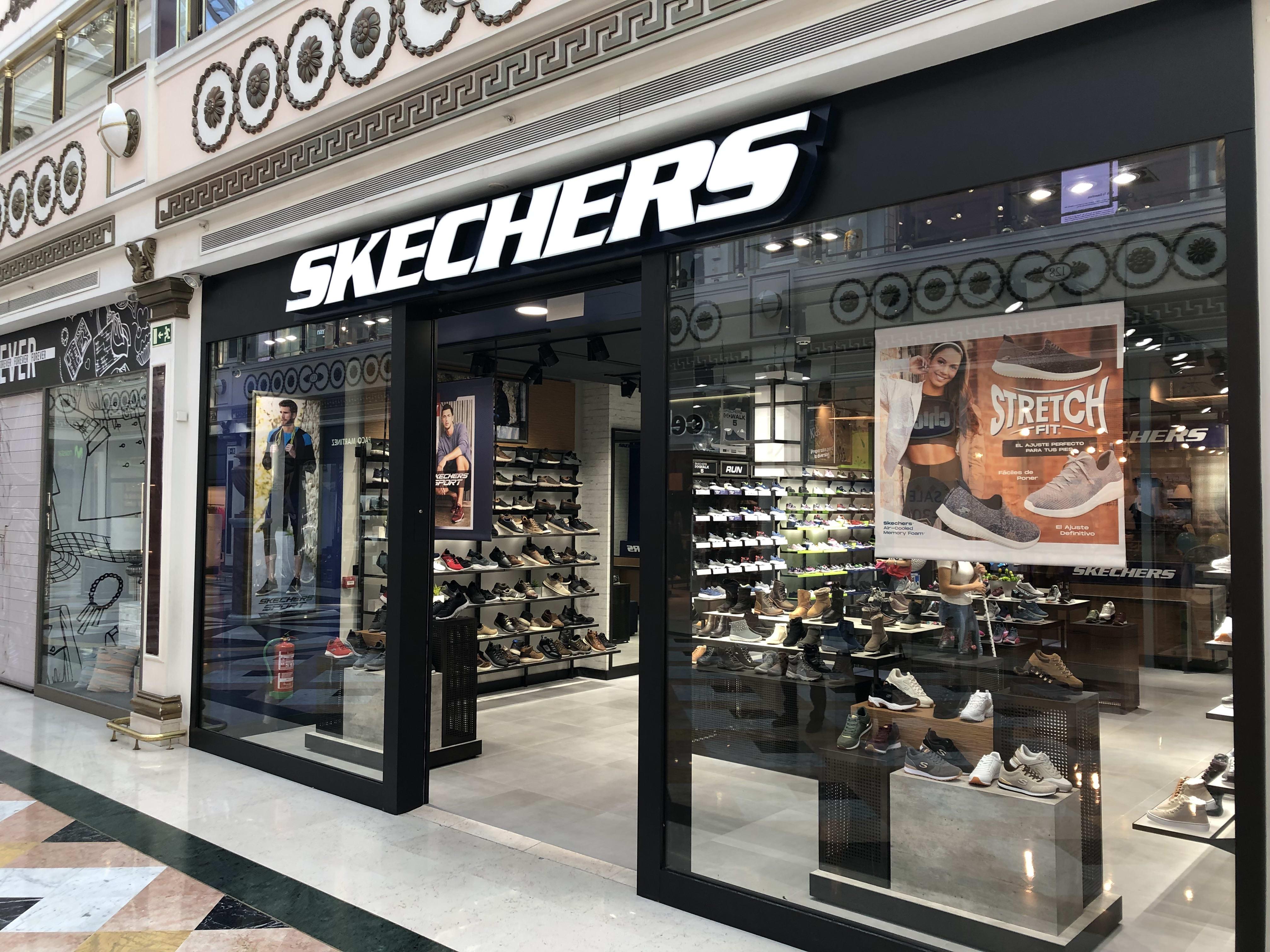 tienda skechers madrid