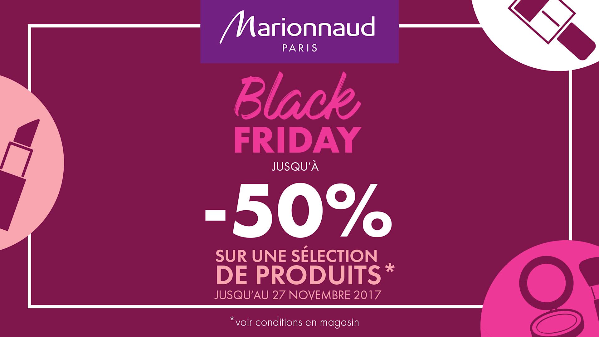 Régional Marionnaud Black Commercial FridayCentre Evry2 oBexdC