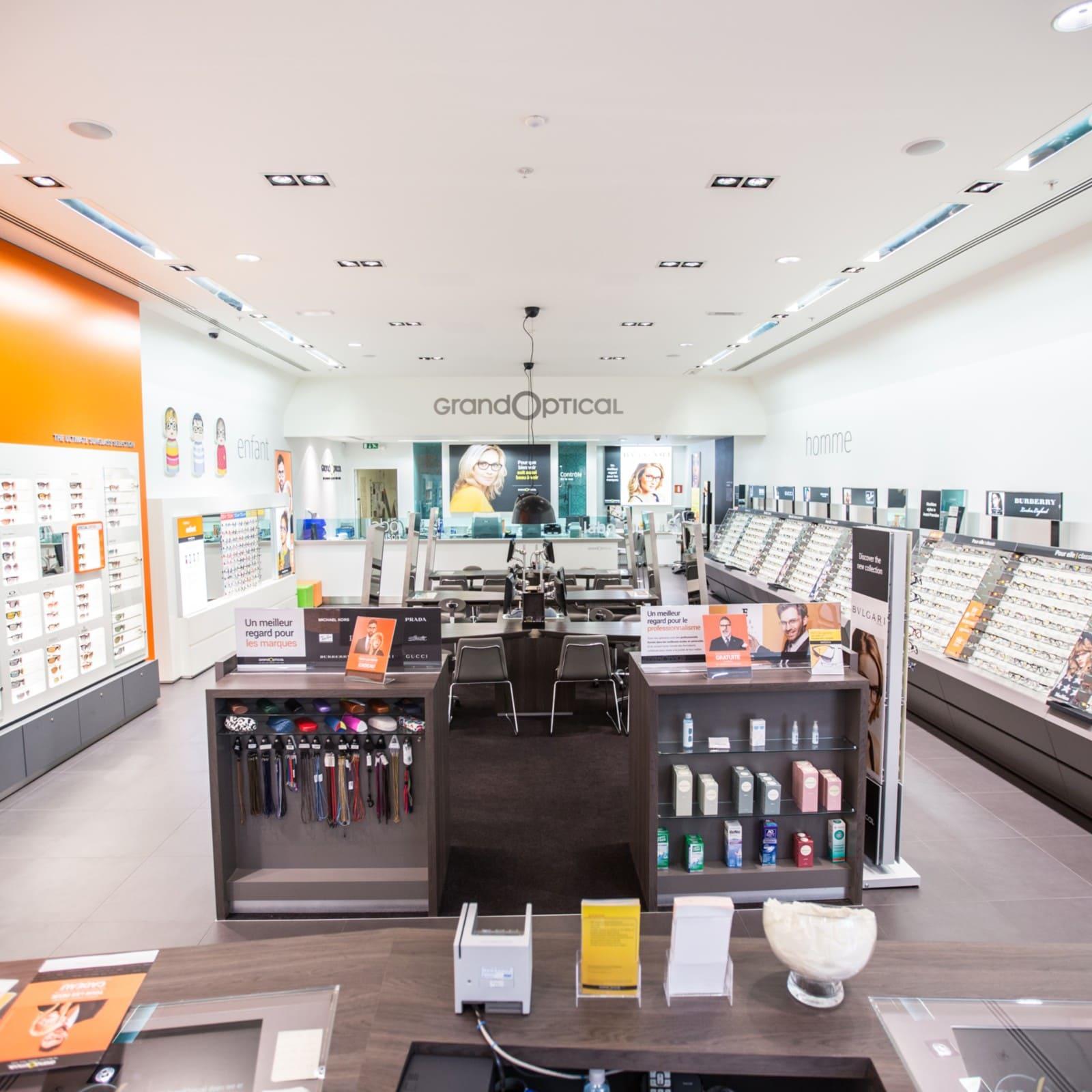 Grand Optical   centre commercial   VILLE2 (Belgique) 17db64792942