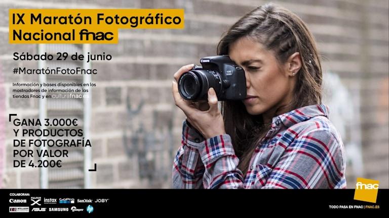 Resultado de imagen de Fnac. X MARATÓN FOTOGRÁFICO NACIONAL