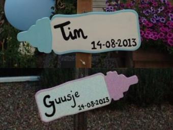 Welkom Tim en Guusje!