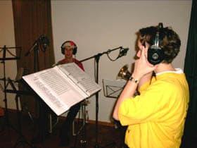 De opnamestudio in