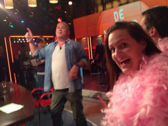 Pink Party bij DWDD