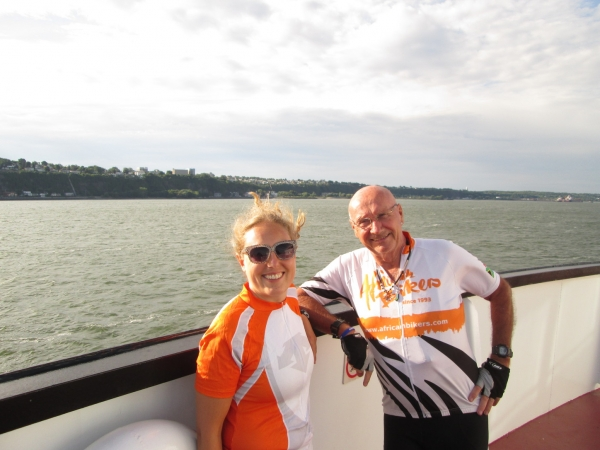 Ferry from QC - Martha and Bob