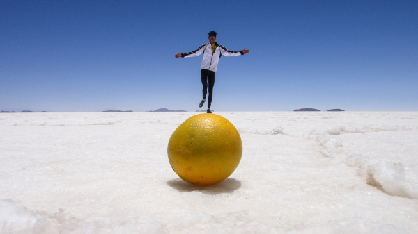 worlds largest orange