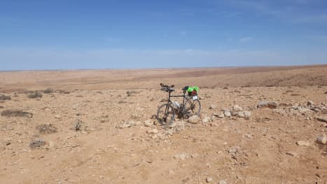 West Africa En Vélo's Rest Day In A 'Lonely Place'
