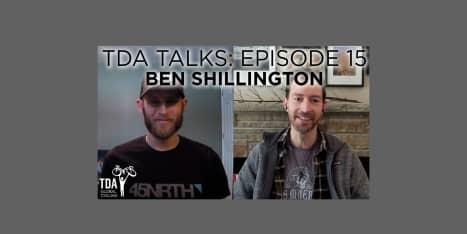 Episode 15 of TDA Talks with Ben Shillington