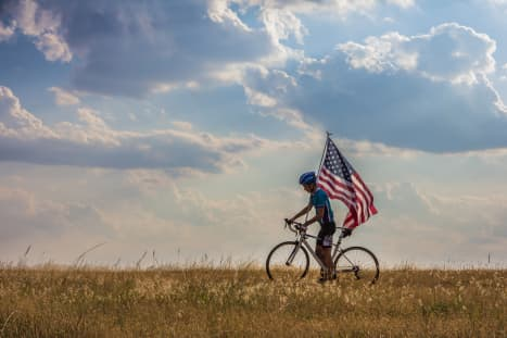 Why Cycle Across America With TDA Global Cycling?