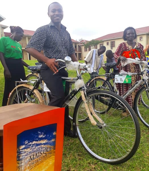 Bike Recipients Kampala Uganda March 2017