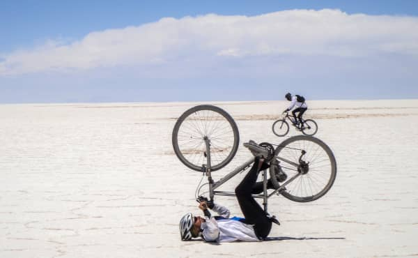 depth perception in the Salt FlatsB