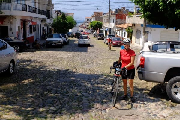 Karine arrives in Puerto Vallarta