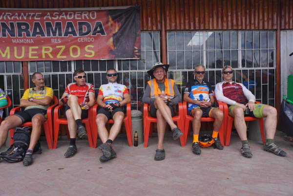 Classic cyclist stop en route to Bogota. Lots of bikes and even more beers.