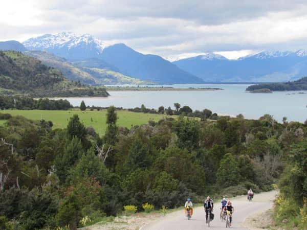 Lago General Carrera vista