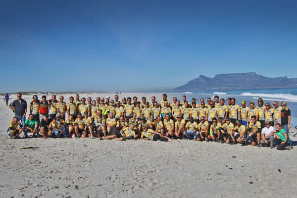 The 2021 Virtual Tour d'Afrique Has Arrived In Cape Town