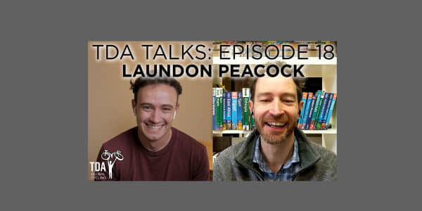 Episode 18 of TDA Talks with Laundon Peacock