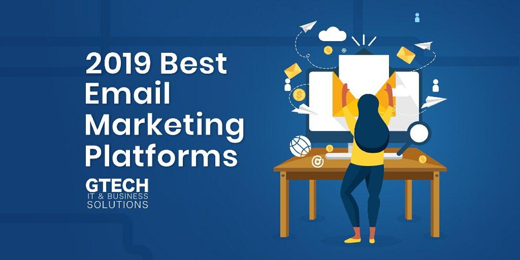 2019 Top Performing eMail Marketing Platforms
