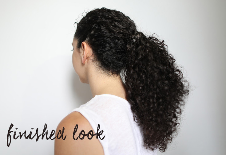 Curly Hairstyles Three Easy Ponytails For Summer Curls