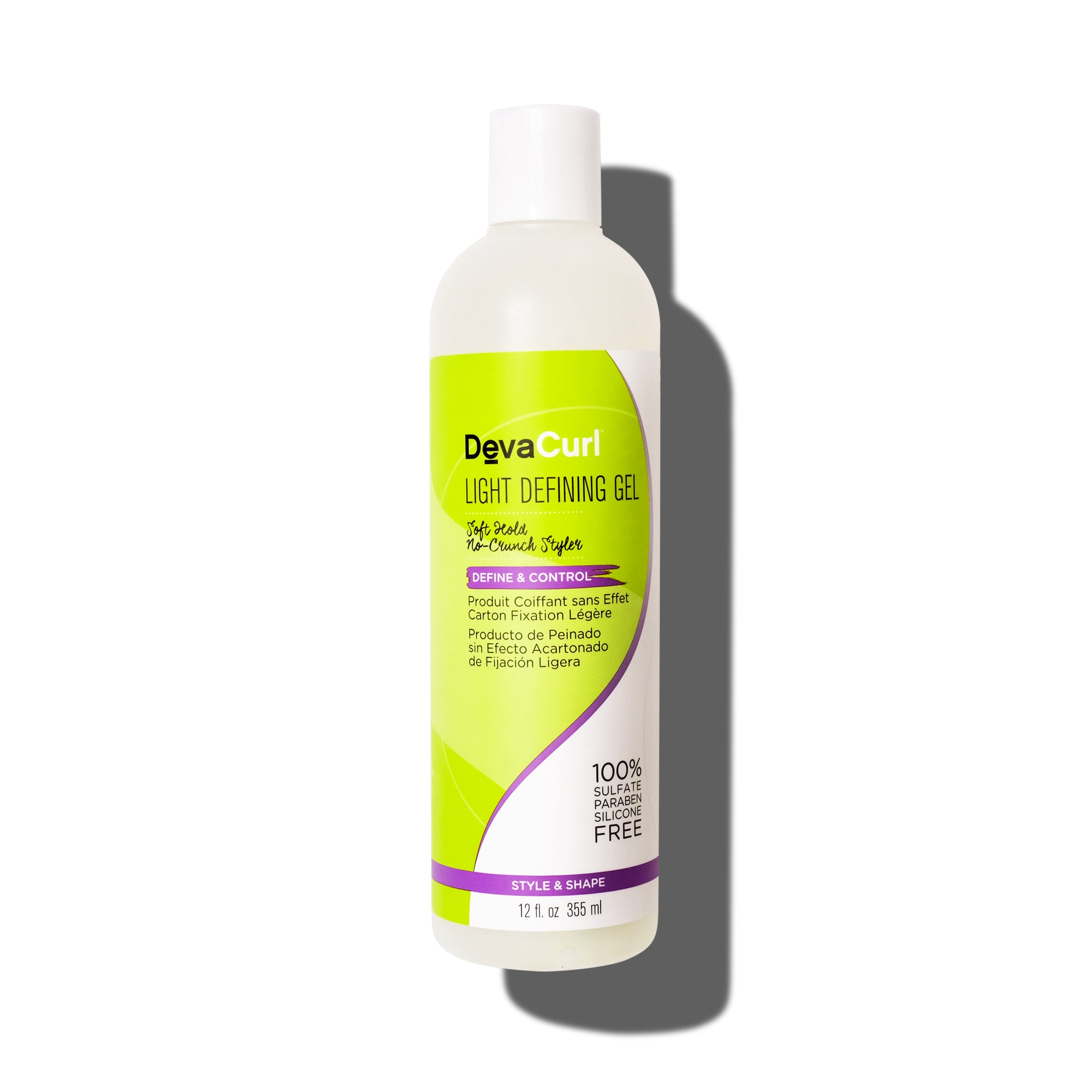 light defining gel 12oz bottle
