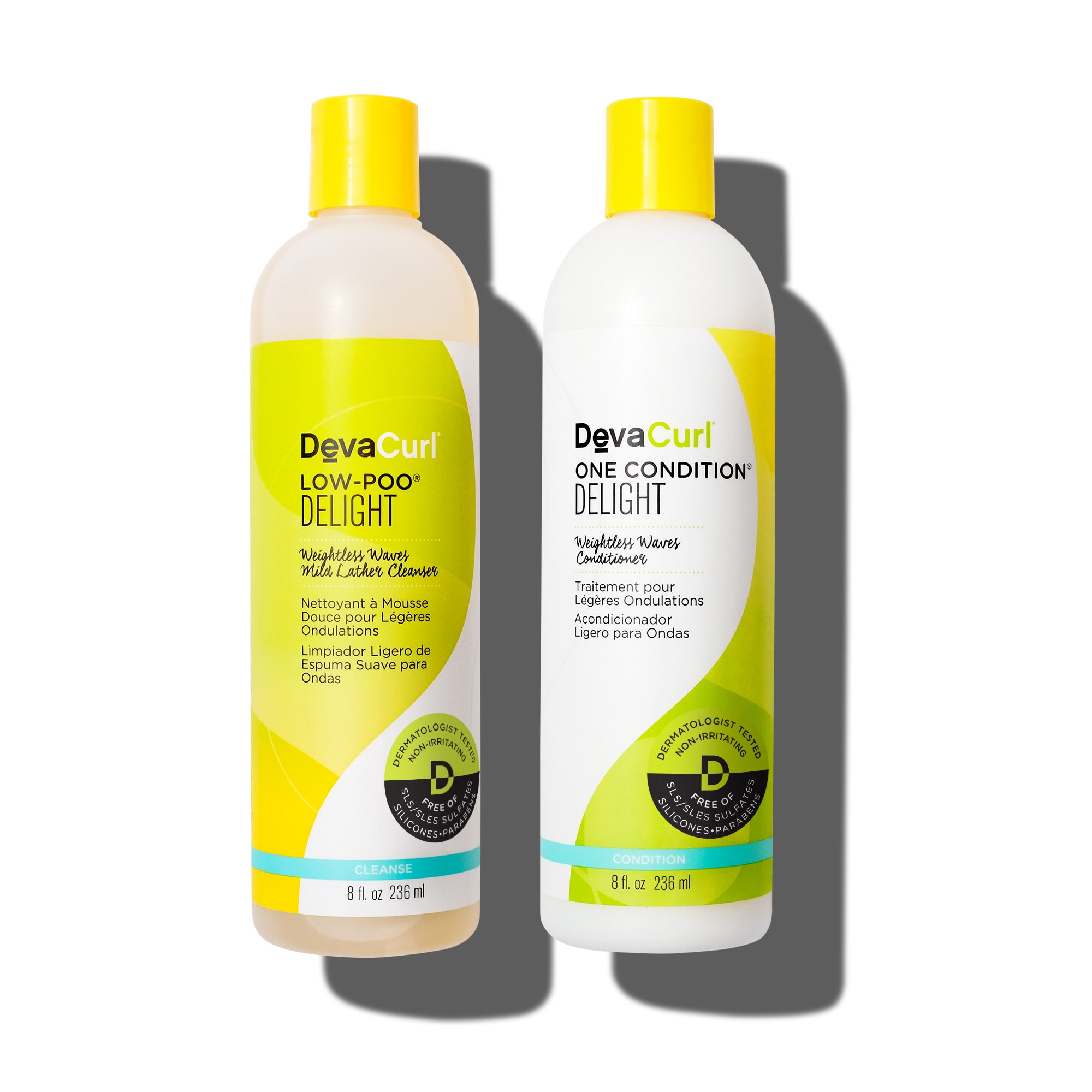Low-Poo & One Condition Delight 8oz bottles